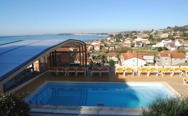 Hoteles y apartamentos riveiro playa de areas sanxenxo rias bajas pontevedra - Apartamentos rias bajas ...